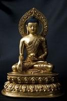 仏陀(ブッダ) 銅造鍍金仕上げ
