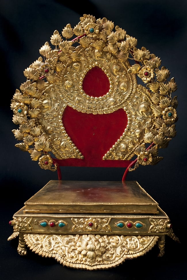 神像・仏像用台座  - 銅造鍍金仕上げの写真