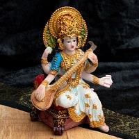 カラフルレジンの神様像 - サラスヴァティ[15cm]