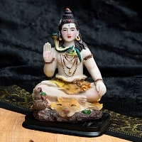 カラフルレジンの神様像 - シヴァ[11cm]