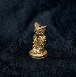 ふくろう - ミニミニ神様像&お香立て[3cm]