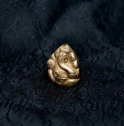 ガネーシャ - ミニミニ神様像&お香立て[3cm]