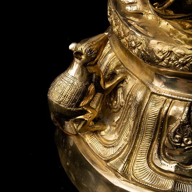 金運と幸運の神様 ガネーシャ像 [特大サイズ・約89cm] 12 - 細部まできちんとした作りです