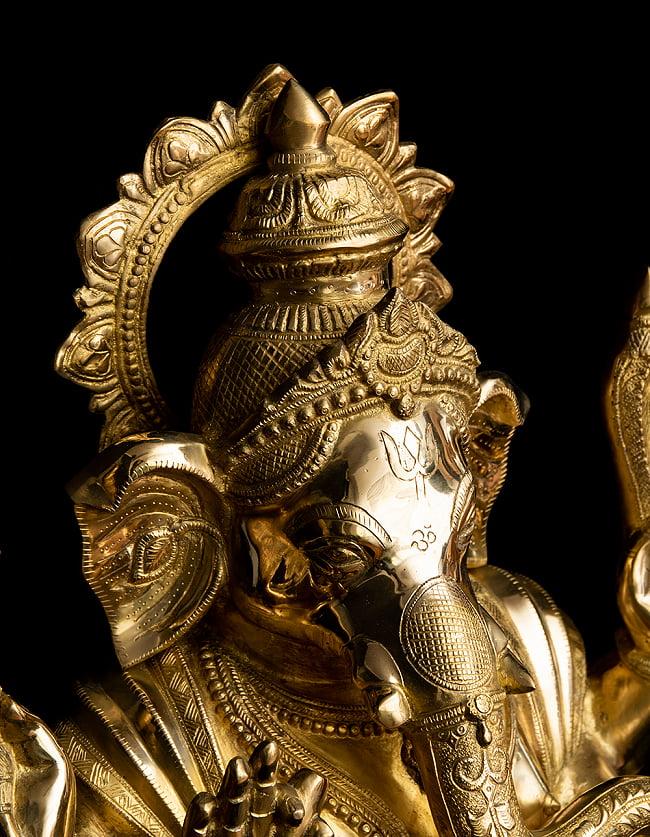 金運と幸運の神様 ガネーシャ像 [特大サイズ・約89cm] 13 - 丁寧な作りです