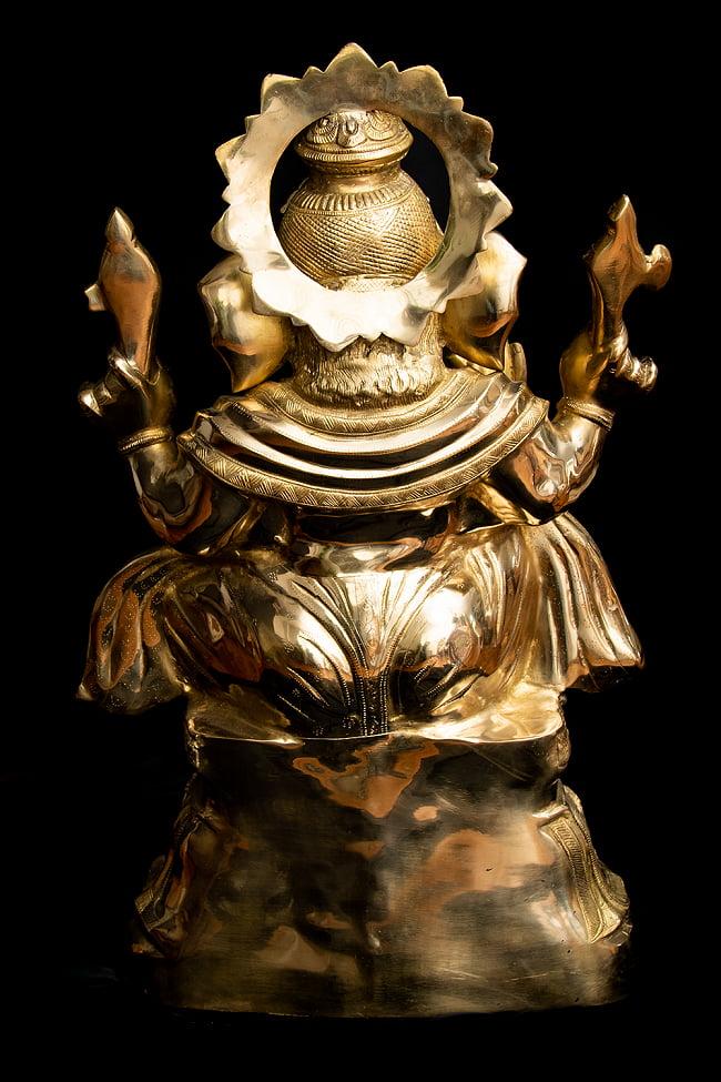 金運と幸運の神様 ガネーシャ像 [特大サイズ・約89cm] 15 - 背面からの様子です。