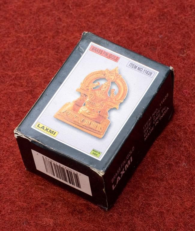 ラクシュミー[5.5cm]/箱入りの写真 - この箱に入れてお届けします。※箱は結構ボロボロですが、ご容赦下さい。
