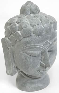 ソープストーン仏陀像の写真 -
