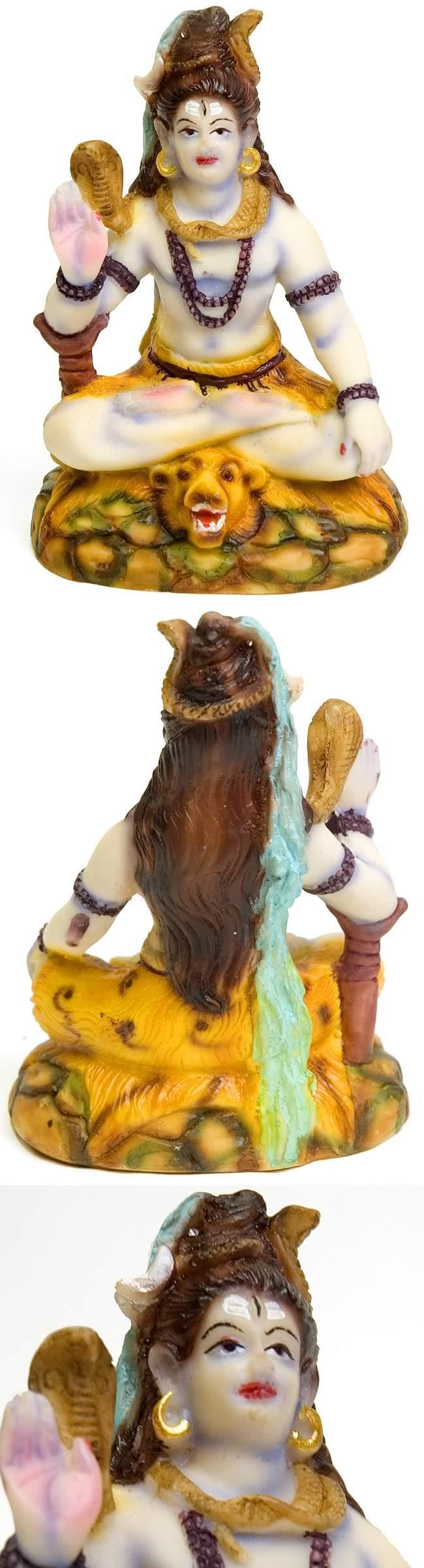カラフルシヴァ座像の写真1
