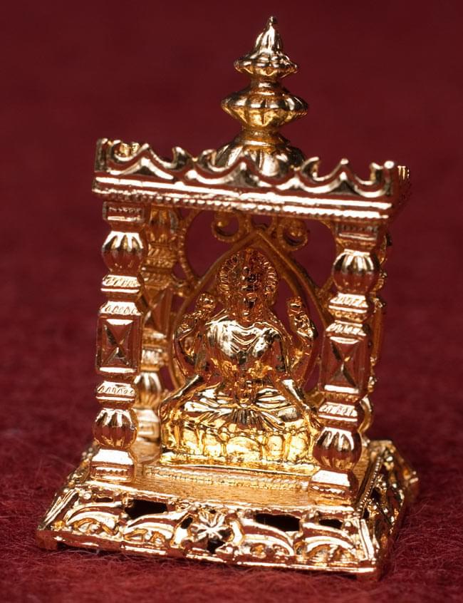 ゴールド・ミニ・ラクシュミー - 寺院タイプの写真1