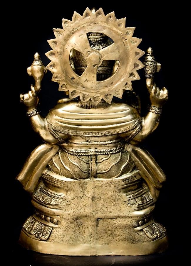 金運と幸運の神様 ガネーシャ像 [特大サイズ・約85cm] 15 - 後ろからの写真です