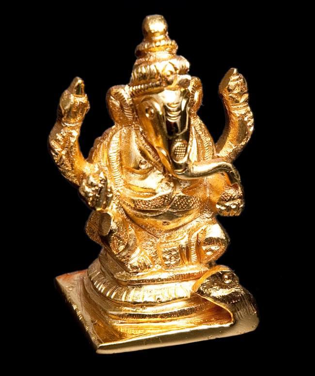 輝くゴールデンガネーシャ像【6cm】の写真