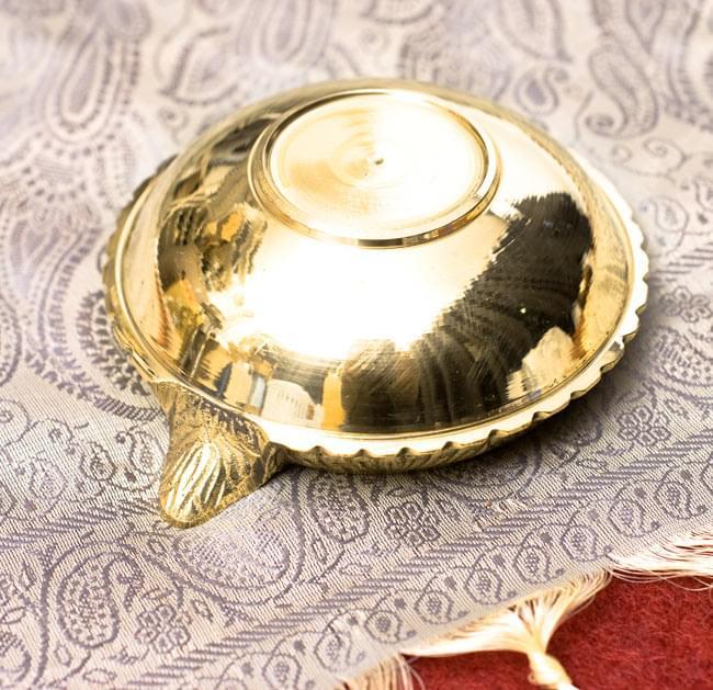 ディア・オイルランプ&灰皿【外径10cm】 5 - 裏面です。