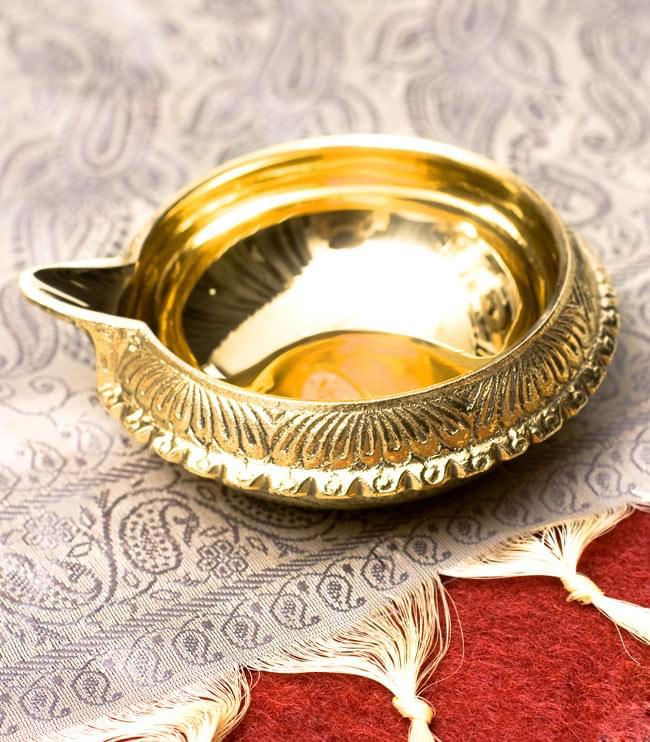 ディア・オイルランプ&灰皿【外径10cm】の写真