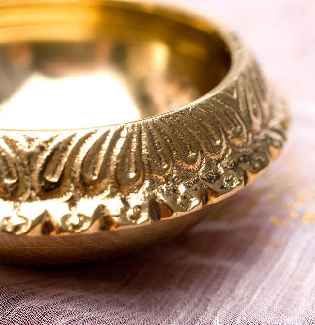 ディア・オイルランプ&灰皿【外径6.4cm】 3 - 縁を拡大しました。とてもキレイです。