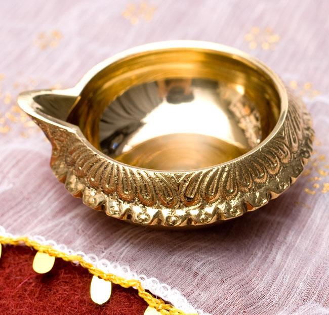 ディア・オイルランプ&灰皿【外径6.4cm】の写真