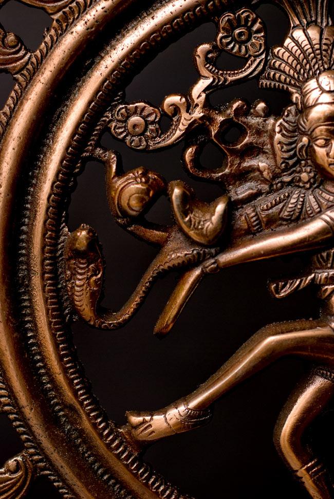 ダンシング・シヴァ(38cm) 9 - 創造と破壊をなす神、シヴァ。インドにおいてもっとも重要な神の一柱です。