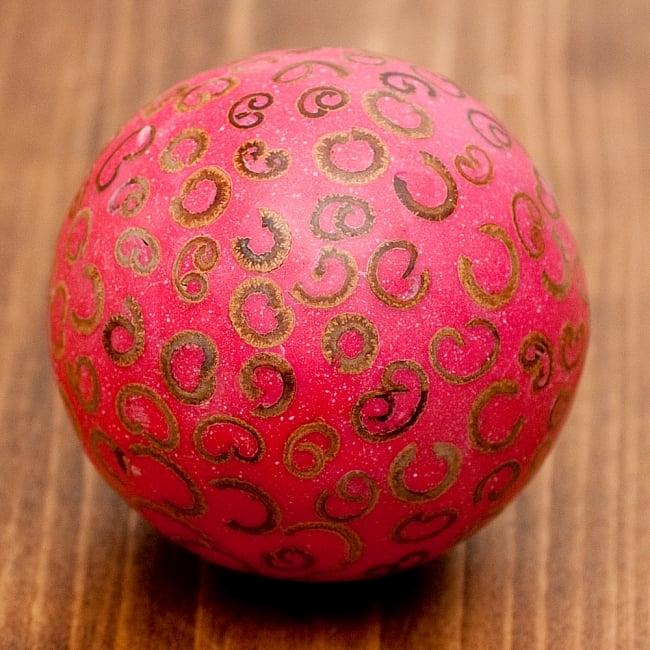 シナモン香り玉 【赤】の写真