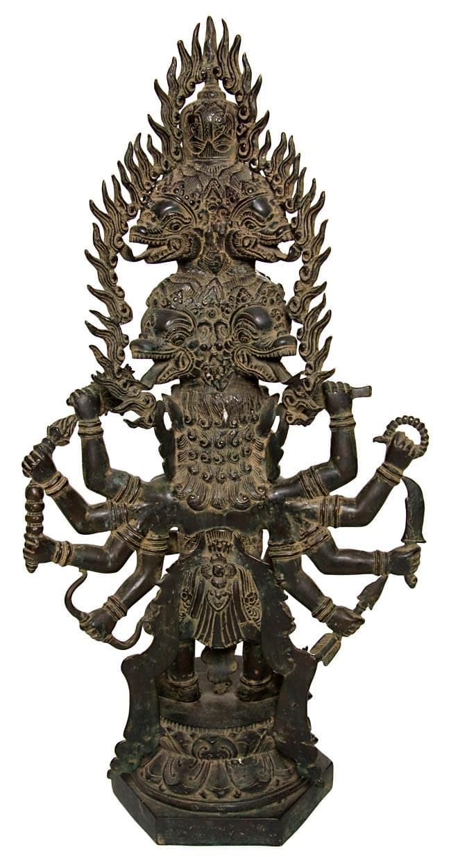 バリの神様像[73cm]の写真4 - 裏側はこんなかんじです。