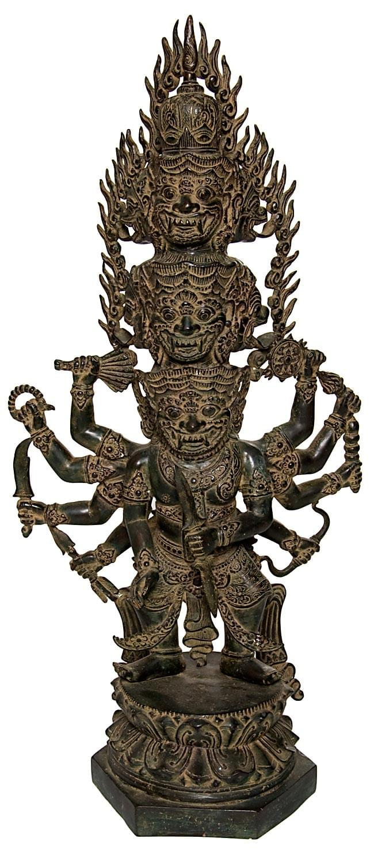 バリの神様像[73cm]の写真