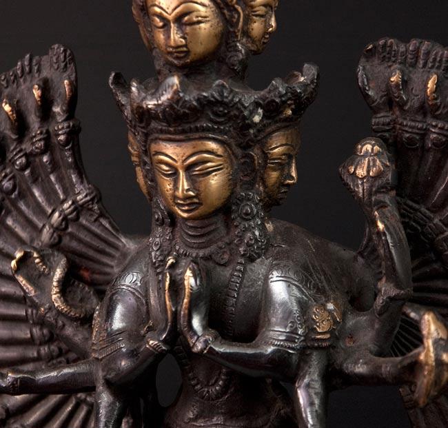 エーカダーシャムカ・アヴァローキテーシュヴァラ - 十一面観音菩薩[26cm]の写真