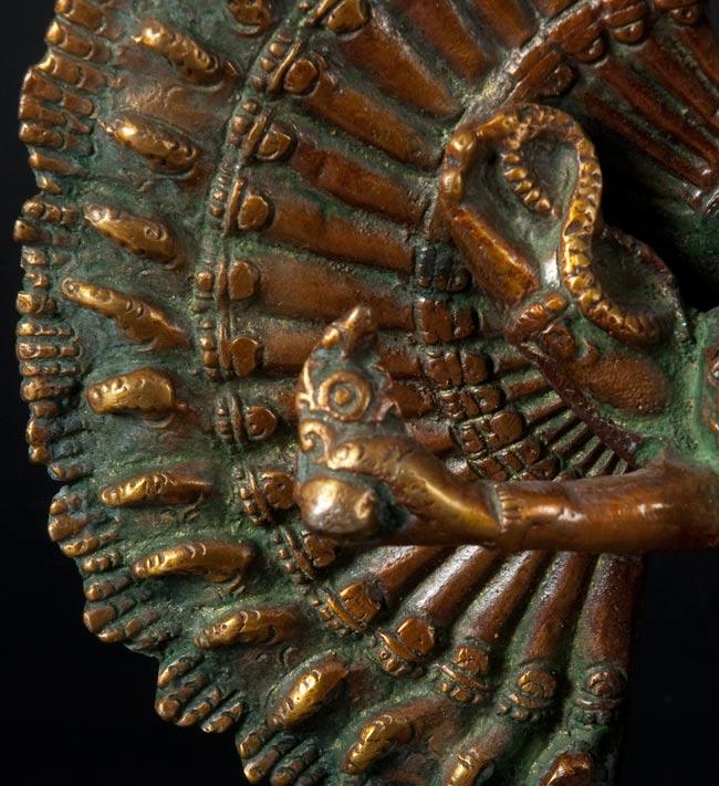 エーカダーシャムカ・アヴァローキテーシュヴァラ - 十一面観音菩薩[36cm]の写真4 - 別の斜め前のアングルから撮影しました