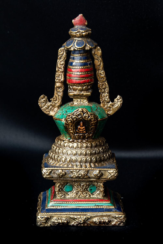 仏塔 - ストゥーパ 高さ:約17cm の通販[送料無料] - TIRAKITA.COM