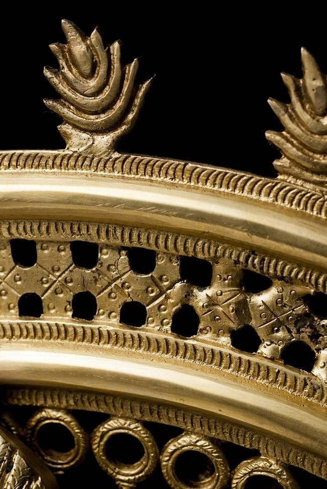 ダンシングシヴァ[特大・85cm]の写真9 - 炎の輪です。