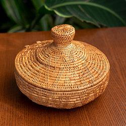 トゥガナン村のアタ タジン鍋型小物入れ 【14cm】