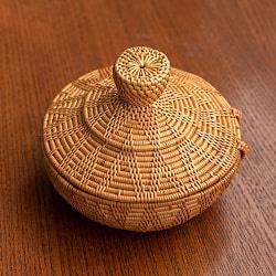 トゥガナン村のアタ タジン鍋型小物入れ 【12cm】