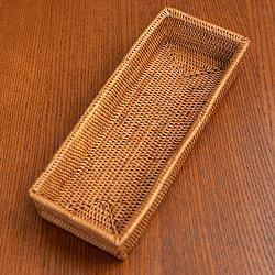 トゥガナン村のアタ 長方形小物入れ 【22cm×9cm】