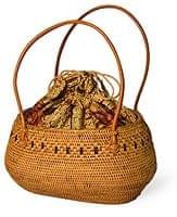 アタかご 巾着バッグ 発祥の地トゥガナン村で手作り