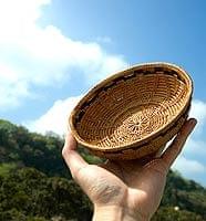 トゥガナン村のアタ 円形皿 -