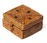 トゥガナン村のアタ バスケットボックス【約8cm】