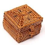 トゥガナン村のアタ バスケットボックス【約5cm】