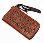 [高品質・一品物]モン族 - 牛革の大きなカードケース