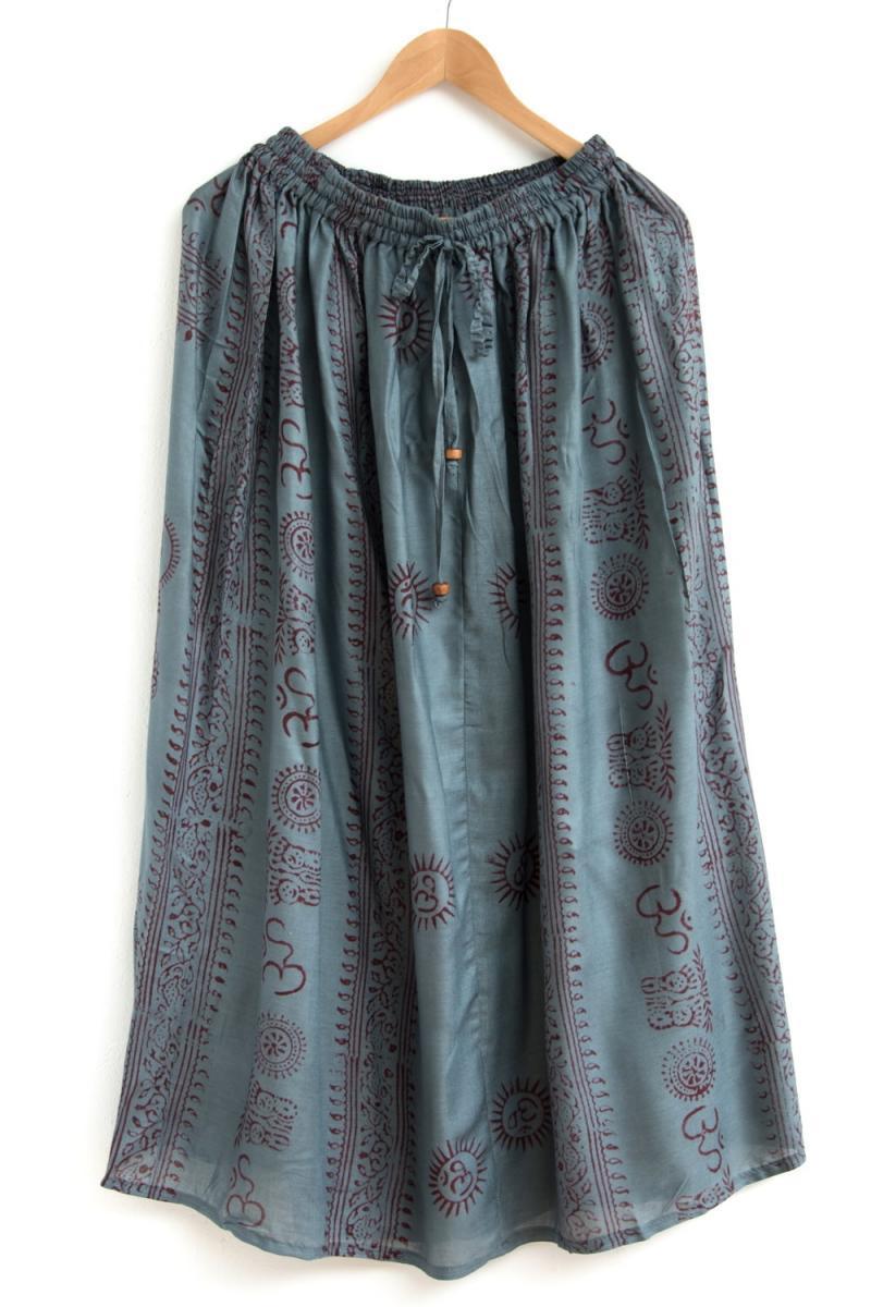 ラムナミフレアースカート 11 - 選択6:グレー