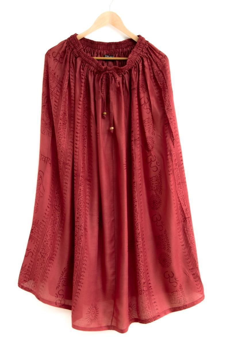 ラムナミフレアースカート 6 - 選択1:れんが