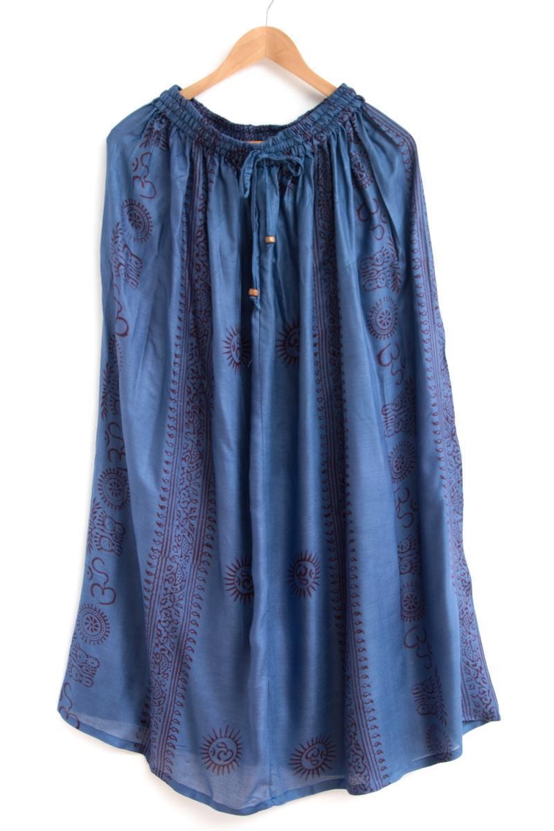 ラムナミフレアースカート 8 - 選択3:ブルー