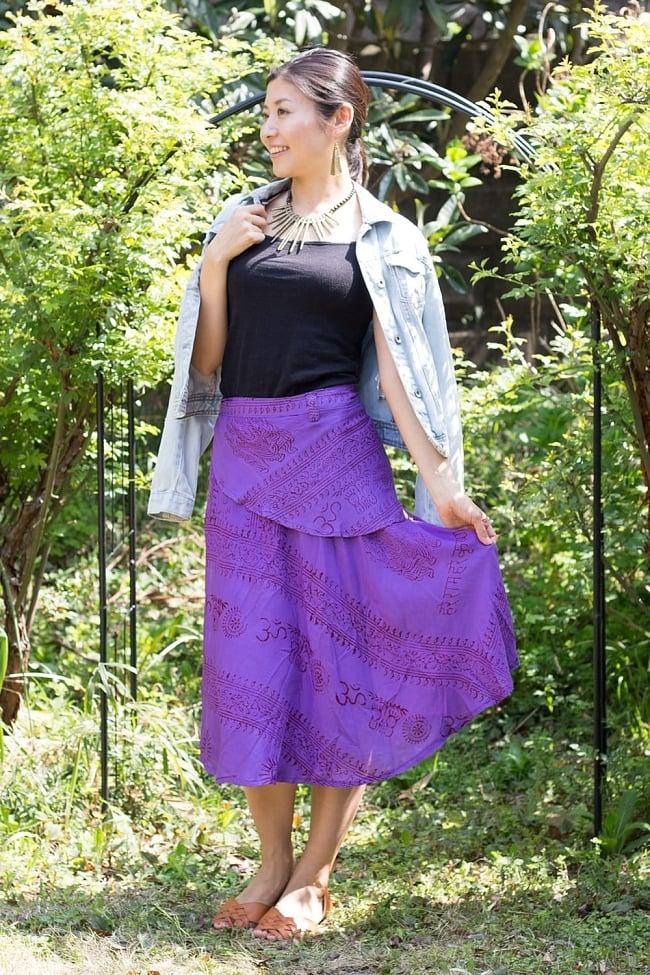 ラムナミフェアリー巻きスカート 5 - リゾートな雰囲気が出て素敵です。