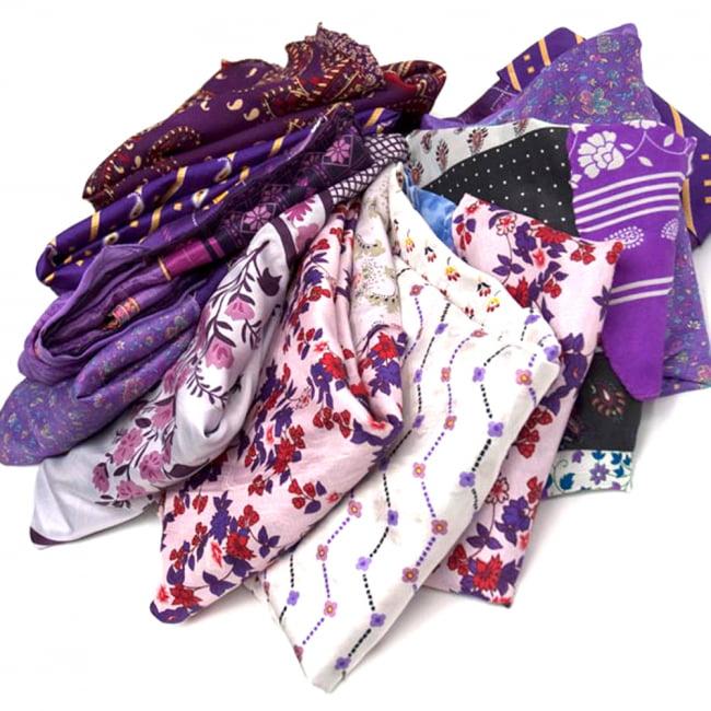 20通りの着方ができる魔法のスカート - 紫系アソート 3 - アソートの内容はこんな感じです。