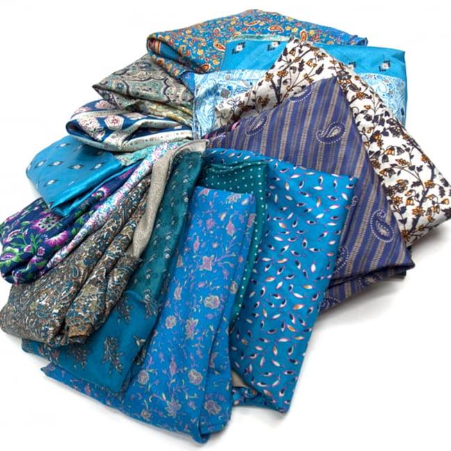 20通りの着方ができる魔法のスカート - 青系アソート 3 - アソートの内容はこんな感じです。
