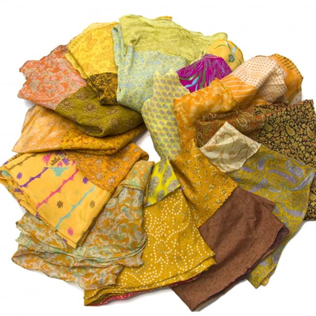20通りの着方ができる魔法のスカート - 黄色、オレンジ系アソートの写真3 - アソートの内容はこんな感じです。