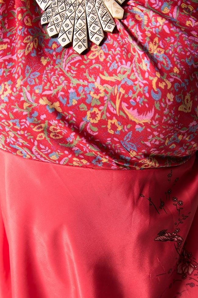 【1点もの】20通りの着方ができる魔法のスカート 赤系 2 4 - 別の箇所をみてみました。
