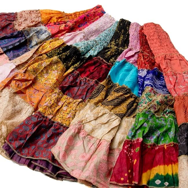 オールドサリーの2WAYスカート【ショート】 5 - 選択:暖色系