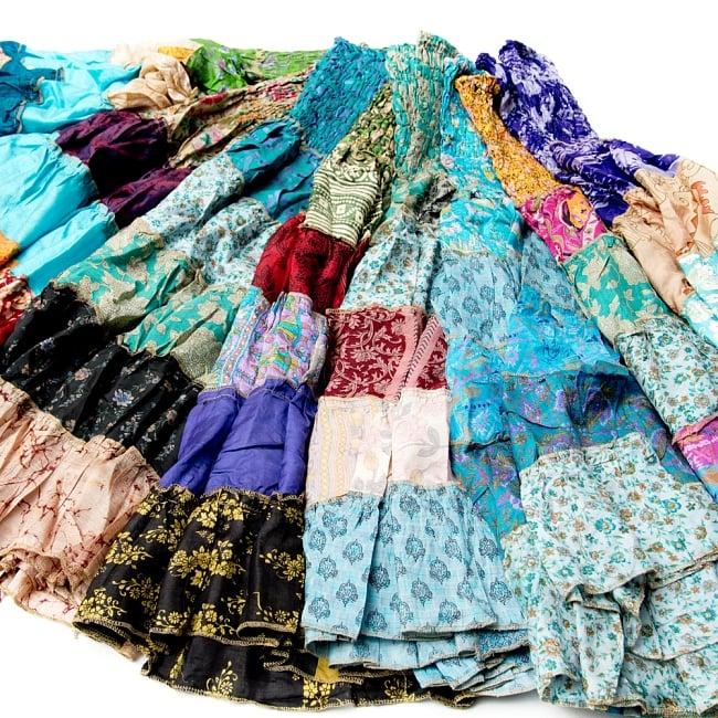 オールドサリーの2WAYスカート【ショート】 6 - 選択:寒色系