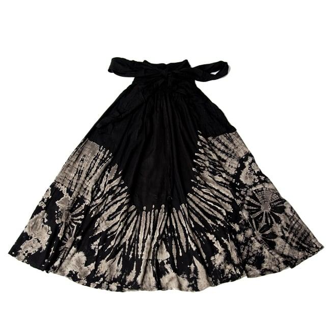 4WAYタイダイロングスカート 13 - 選択5:ブラック