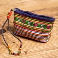 モン族の古布を使ったストラップ
