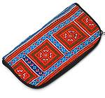モン族の古布を使ったウォーレット-柄11