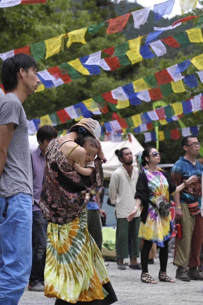 金冠日食 DANCE OF SHIVA2012[DVD]の写真4 - エスニックで素敵な雰囲気に包まれる会場