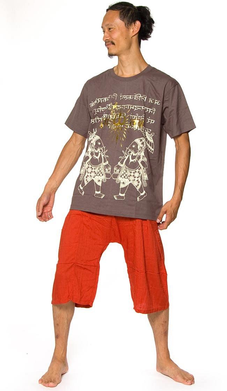 アンブレラガネーシャ 6 - 身長180cmのインドパパがLサイズを着てみました
